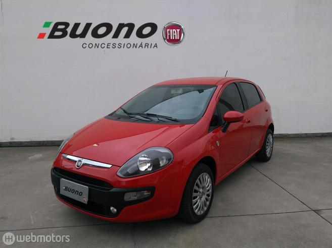 FIAT PUNTO 1.4 ATTRACTIVE ITALIA 8V FLEX 4P MANUAL